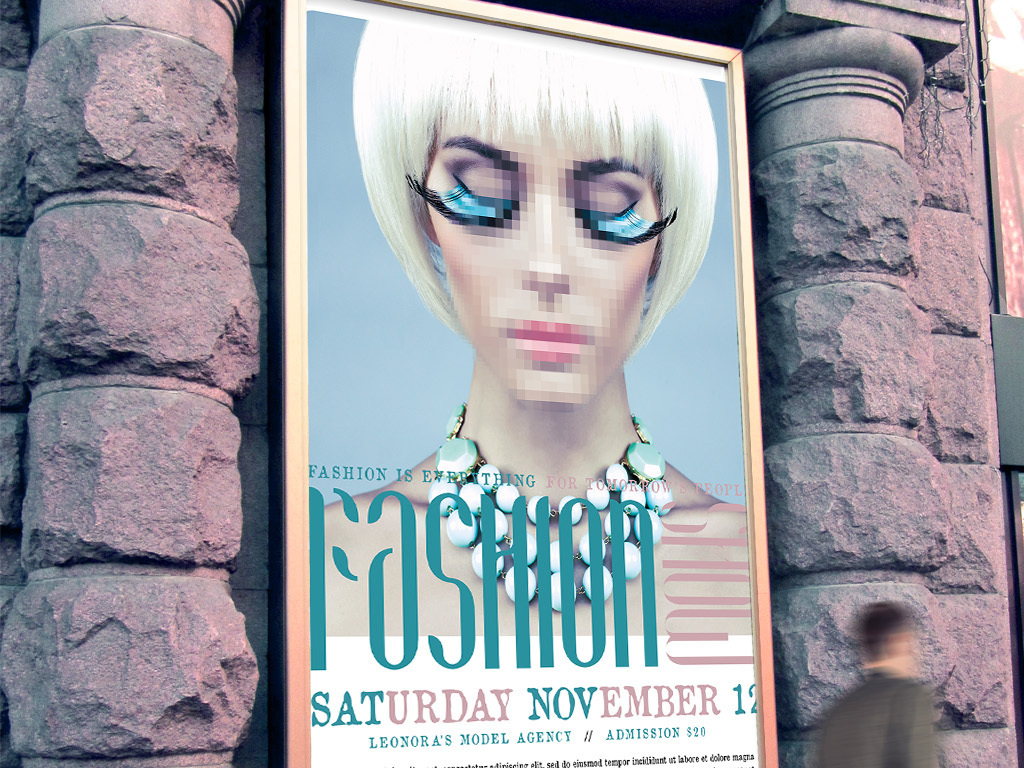 现代简约美容美妆时装首饰时尚派对创意海报图片