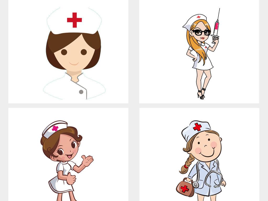 卡通医院检查医生护士健康护理png素材图片 模板下载 12.66MB 商务