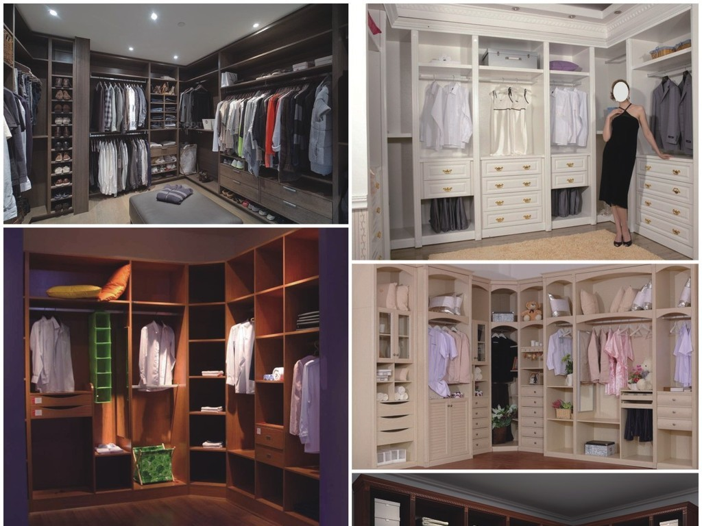 欧式法式美式酒柜衣柜橱柜鞋柜整木定制图片