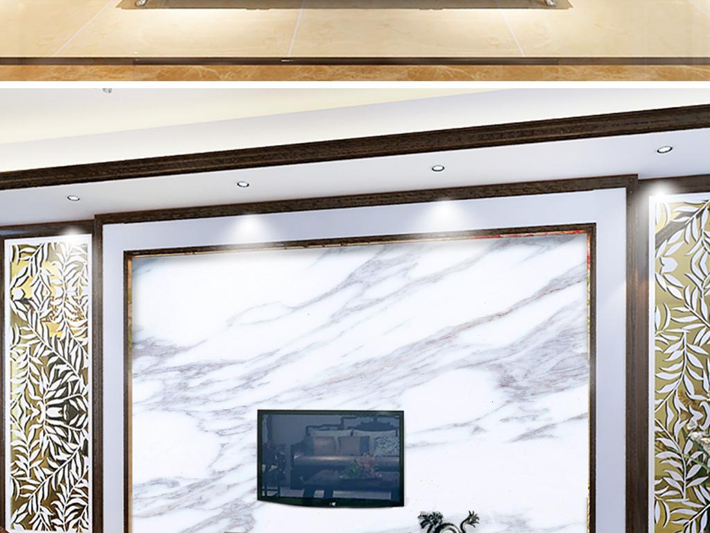 背景墙|装饰画 电视背景墙 大理石背景墙 > 2018新款简约爵士白欧式