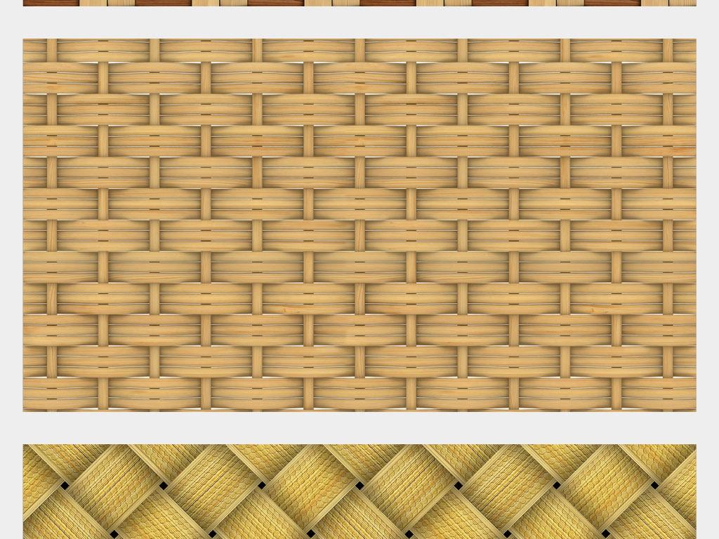 高清竹子竹编纹理背景素材