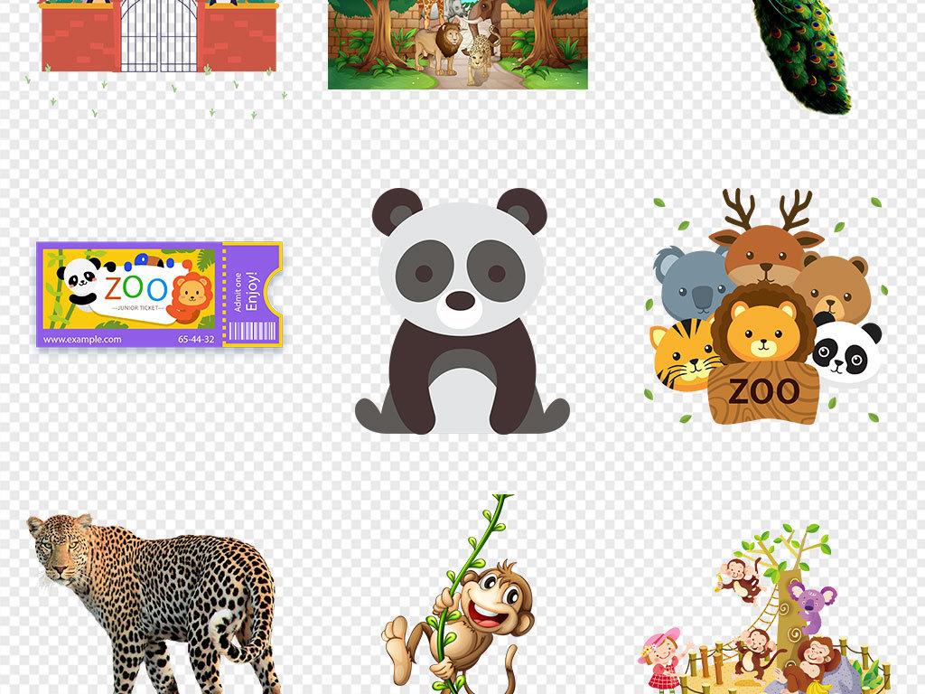 小动物手机壳图案设计儿童画手绘动物水墨黑白壁画壁纸墙纸动物