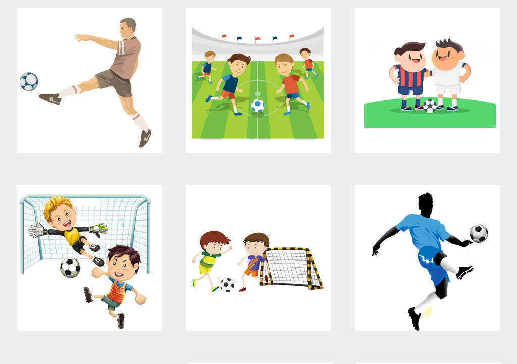 2018年世界杯运动会踢足球剪影体育背景png素材