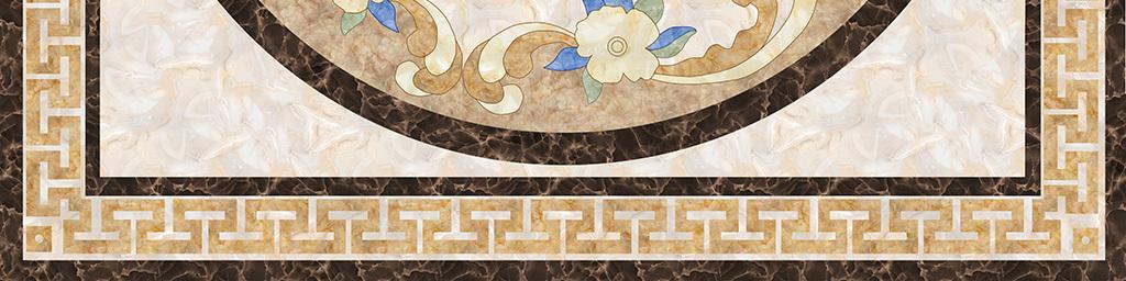 简约大理石纹地砖拼花图片