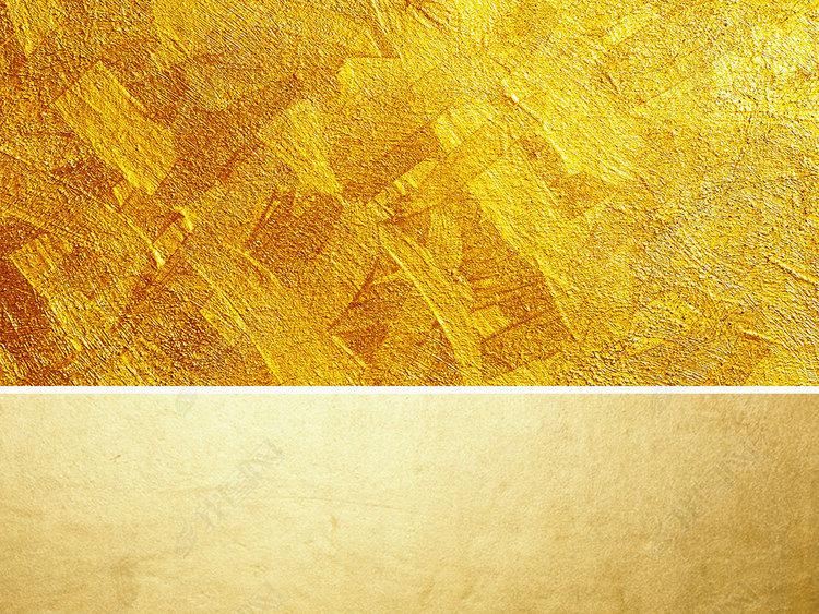 黄金金色金粉金属质感光斑背景底纹素材