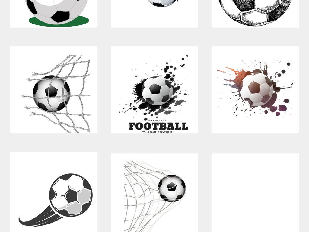 足球运动2018世界杯海报背景PNG素材