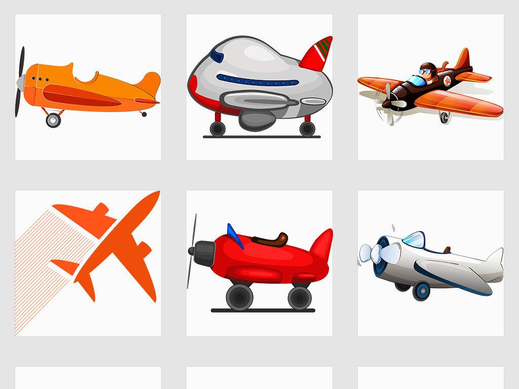 png透明背景儿童背景卡通人物人物飞机儿童卡通卡通飞机卡通儿童设计