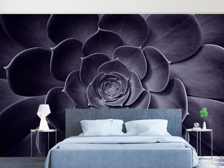 3D立体抽象花卉花朵新中式背景墙