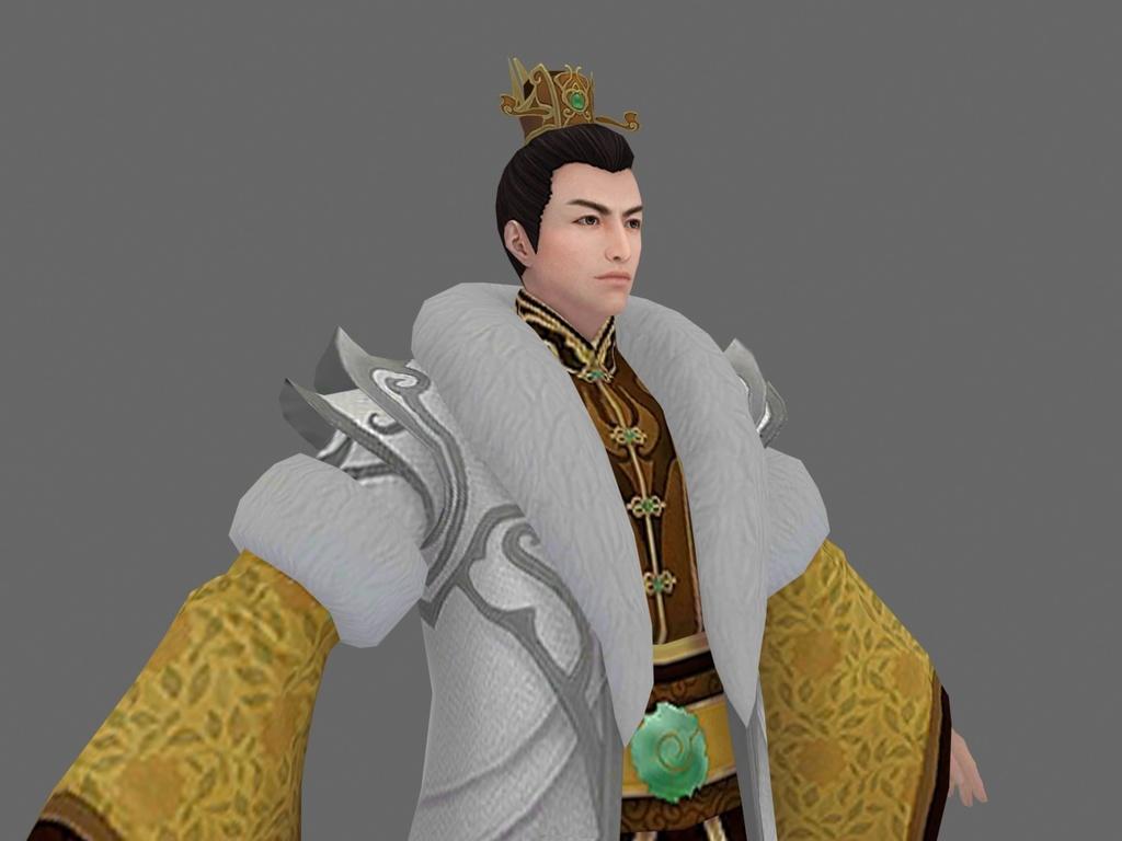 模型库 单体模型 游戏动漫 > 古代人物帝王少主