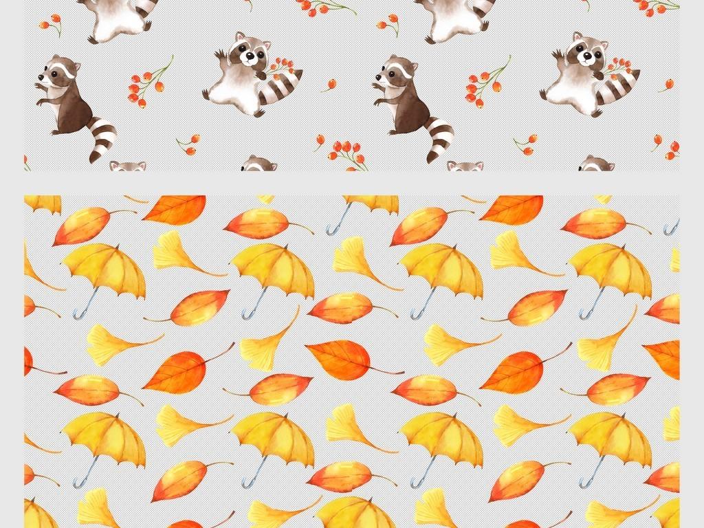 设计元素 花纹边框 卡通手绘边框 > 手绘水彩可爱卡通动物png免扣素材