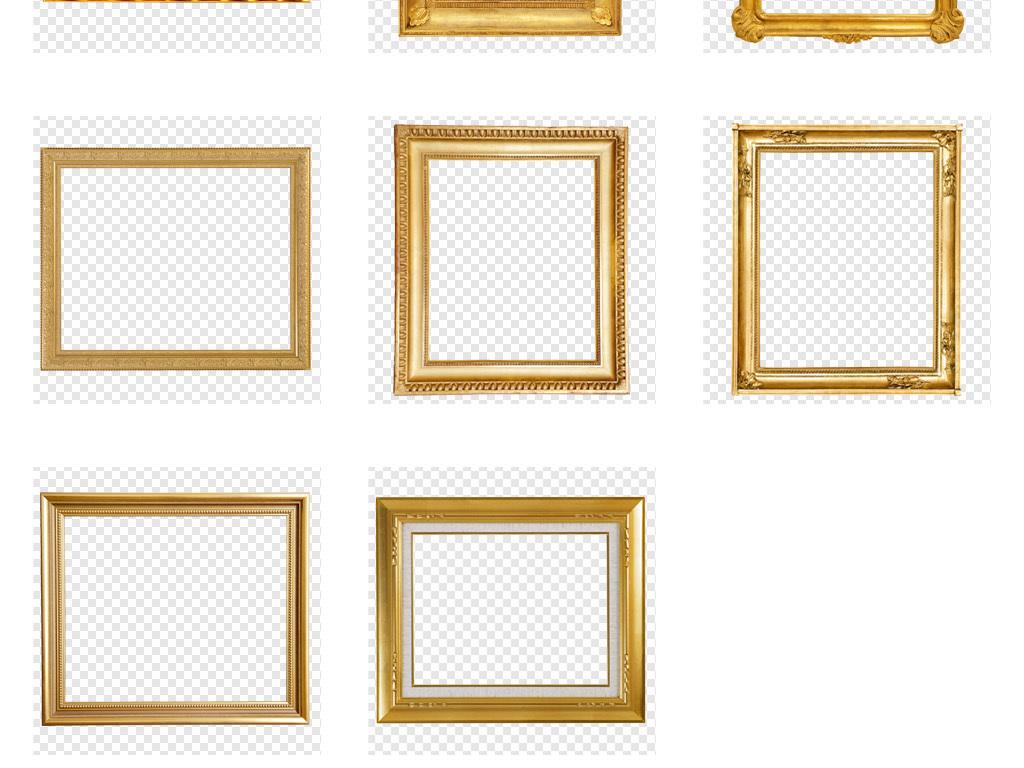 相框画框木框边框装饰框外框画裱框素材
