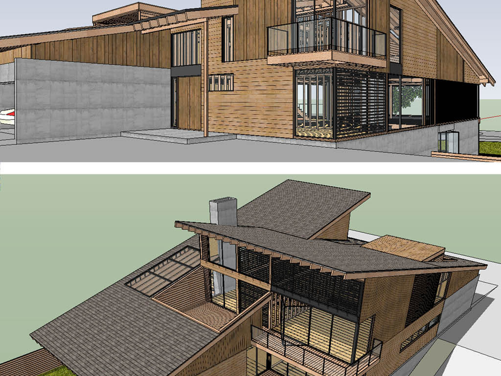 别墅园林建筑设计