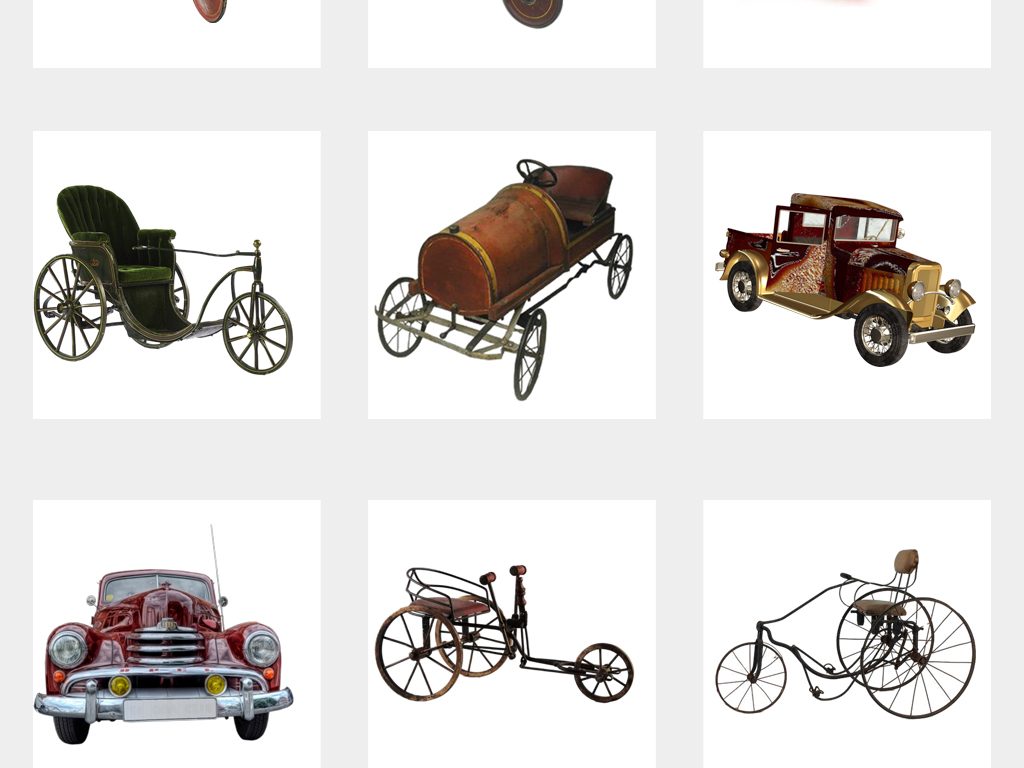 国外汽车旅行英伦汽车英国车蒸汽车手绘