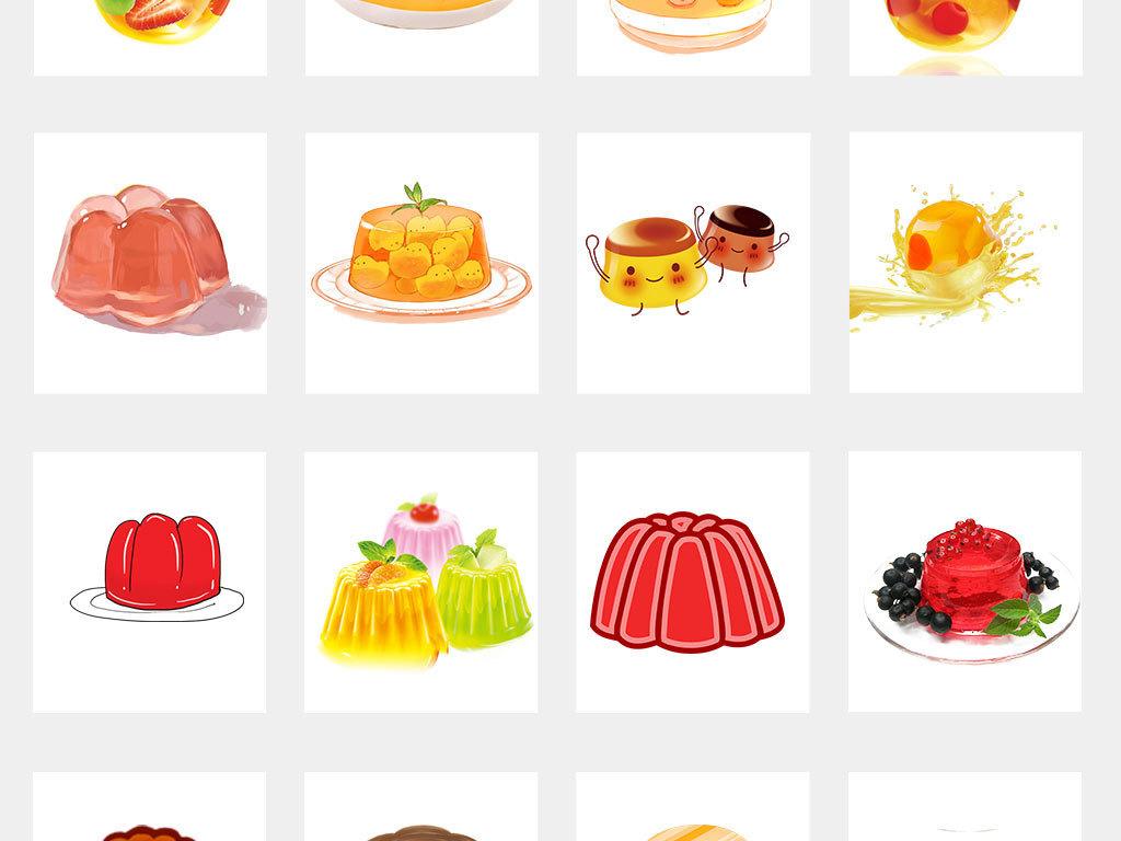 卡通零食喜之郎水果冻png素材