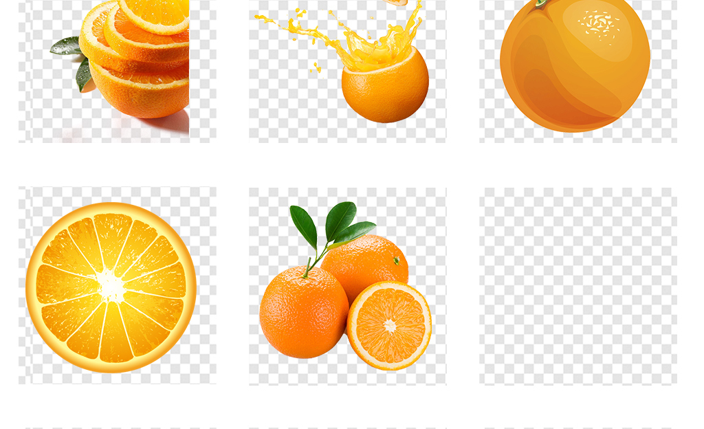 柠檬水彩素材橙子手绘水果手绘水彩橘子水彩水果美味手绘素材水果手绘