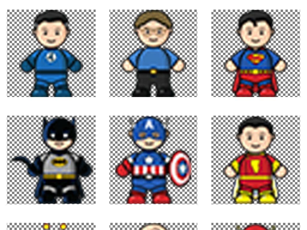 手绘3d任务吉祥物设计卡通人物游戏动漫游戏人物卡通游戏电影人物素材