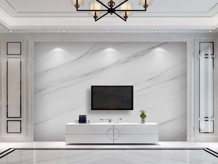 高清爵士白大理石纹电视背景墙大板石纹