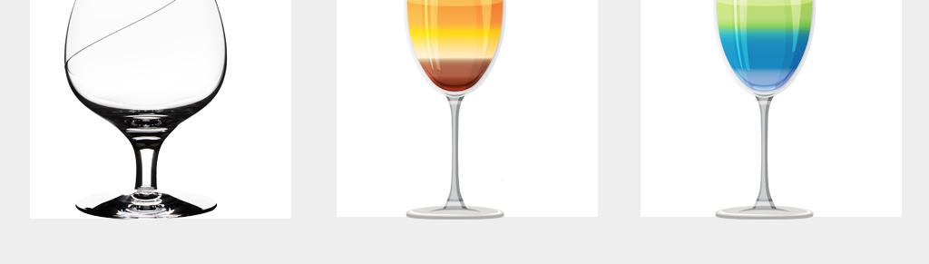 卡通手绘高脚杯酒杯png透明背景素材