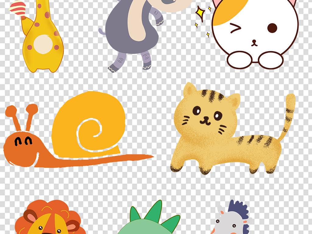 北欧手绘小清新水彩小熊装饰画设计素材png海报