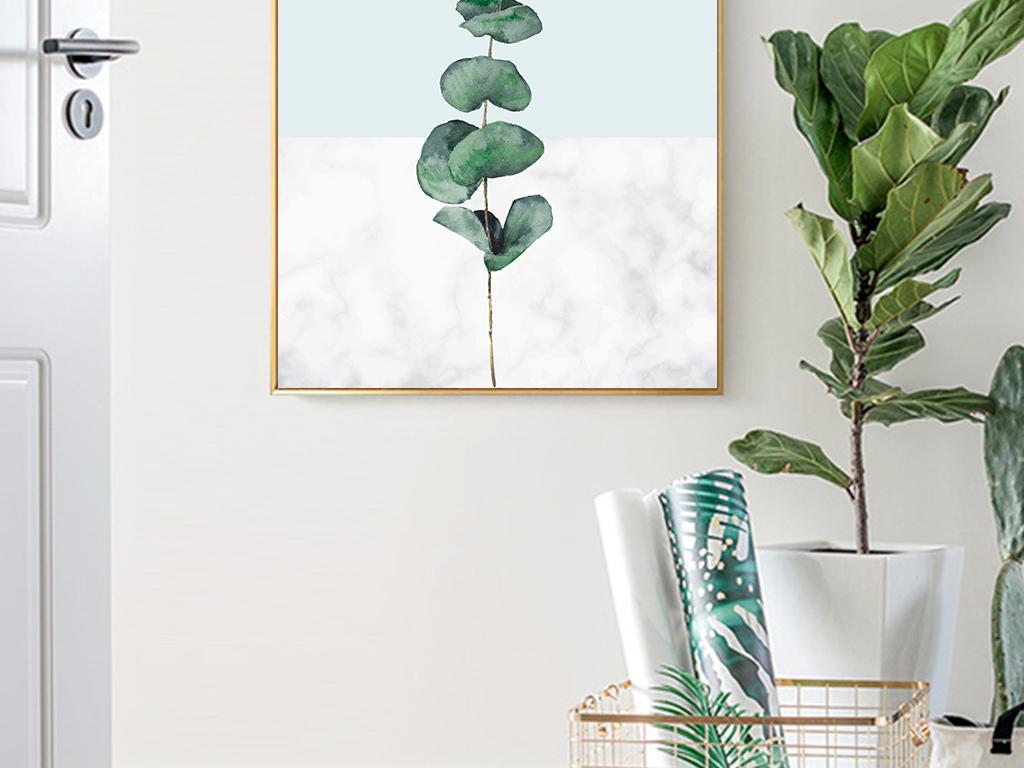 小清新北欧ins家居风格装饰画图片设计素材_高清模板图片