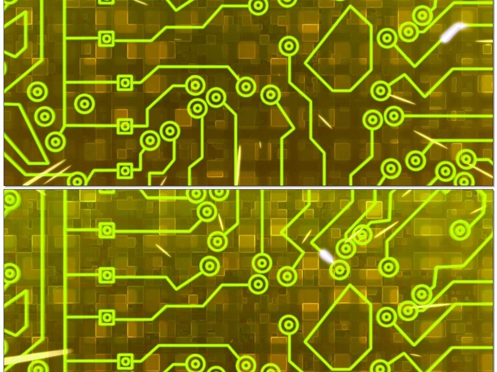 视频模板 背景视频 动态|特效|背景 > 金色电路背景视频  0 %