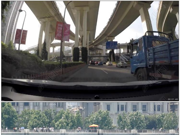 上海陆家嘴南浦大桥南京路步行街黄浦江人文