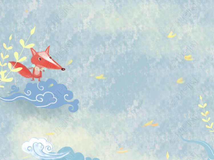 原创动物植物素材插画