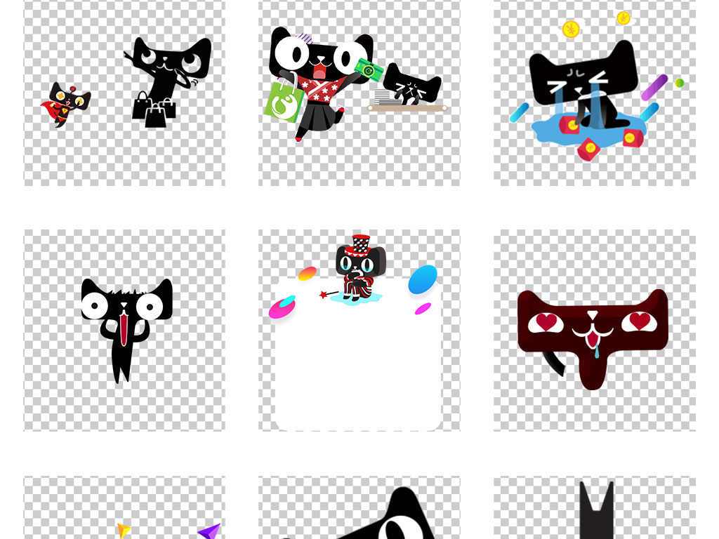 分享 :  我图网提供独家淘宝天猫logo表情主图详情页海报png素材下载图片