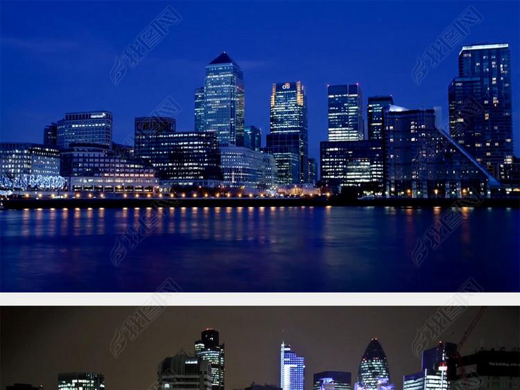 英国伦敦城市延时摄影高清实拍视频素材