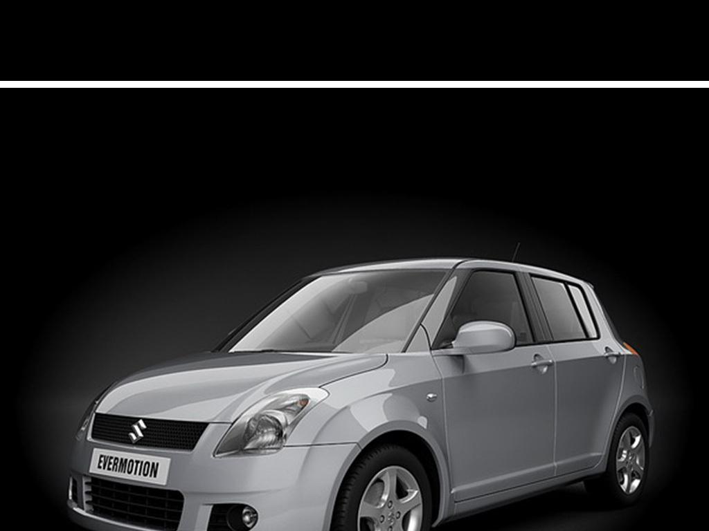 模型库 机械工业 工业产品 > 时尚汽车3d模型设计交通工具汽车模型