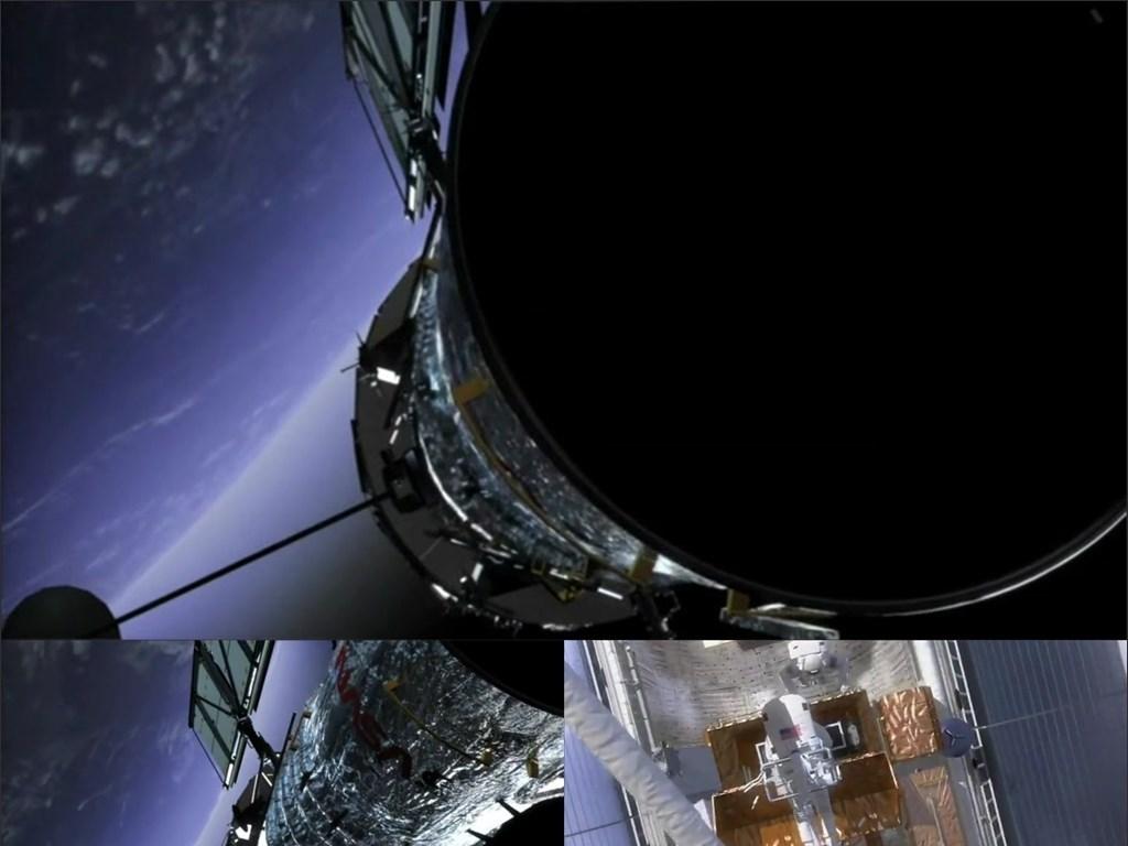 哈勃太空望远镜宇航员图片设计素材 高清MP4模板下载 11.39MB 航空航天大全