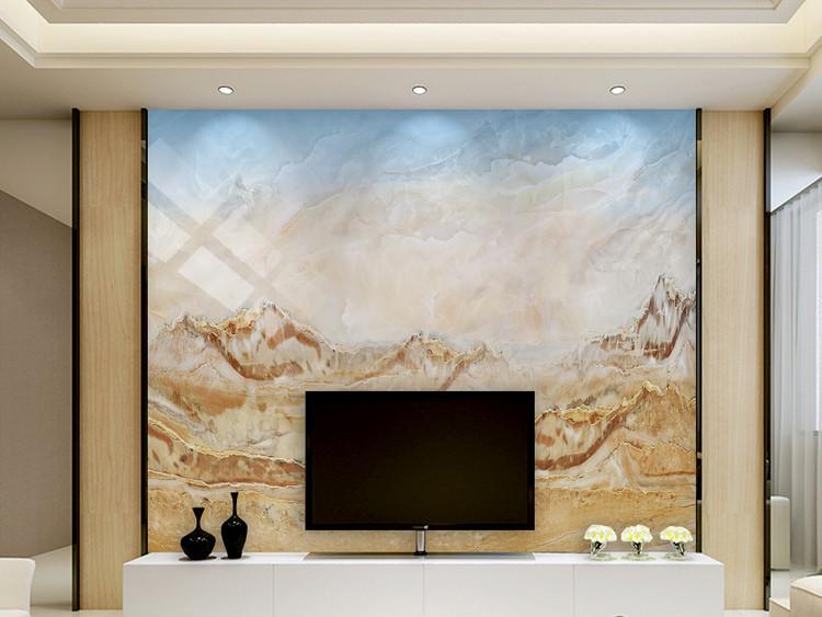 高清大理石纹山水石纹大理石纹背景墙