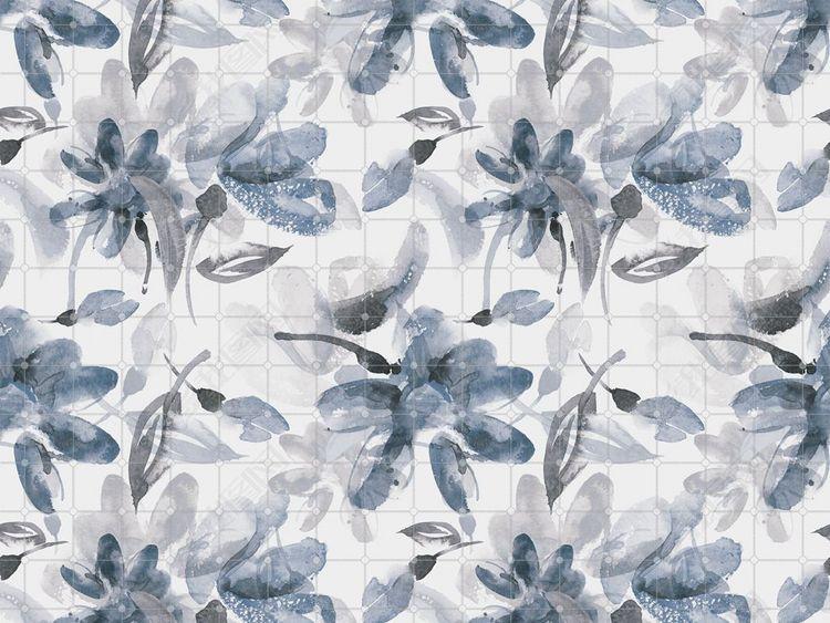 花卉花朵图案丝巾图案纹理