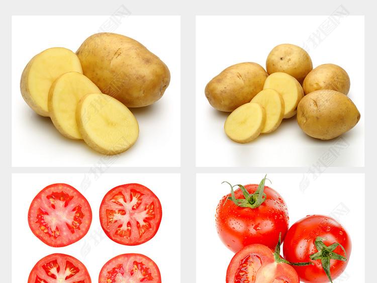 新鲜蔬菜水果有机蔬菜一堆蔬菜水果高清大图