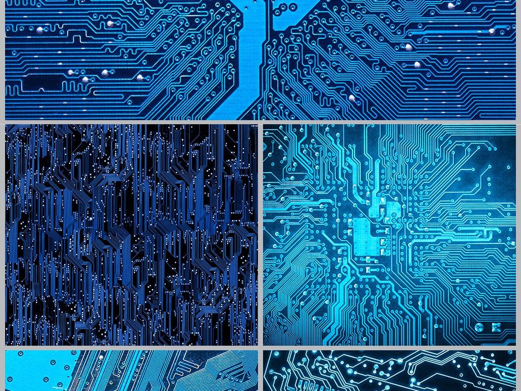 高清主板贴图科技电路板贴图科技纹理贴图