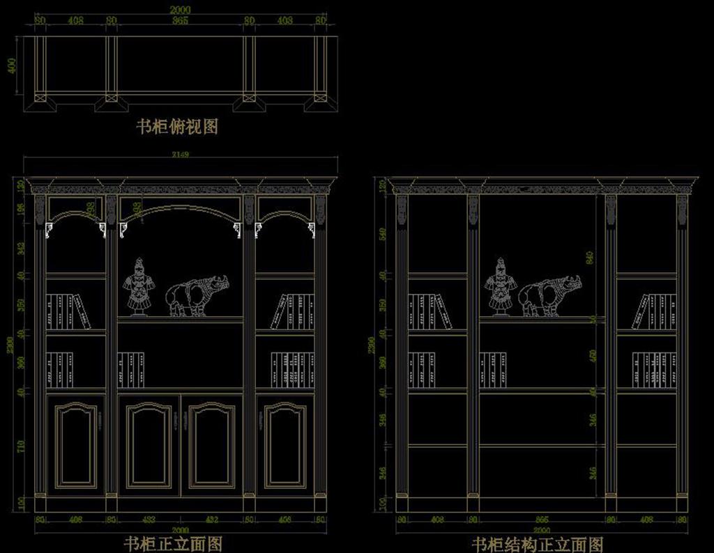 cad欧式柜子设计图库衣柜鞋柜酒柜设计图