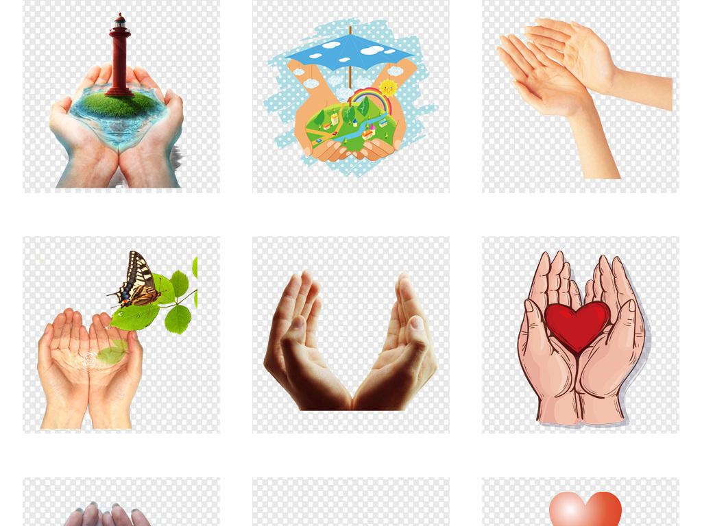 双手托起捧起爱护树苗保护地球PNG元素图片素材 模板下载 48.17MB 其他大全 自然