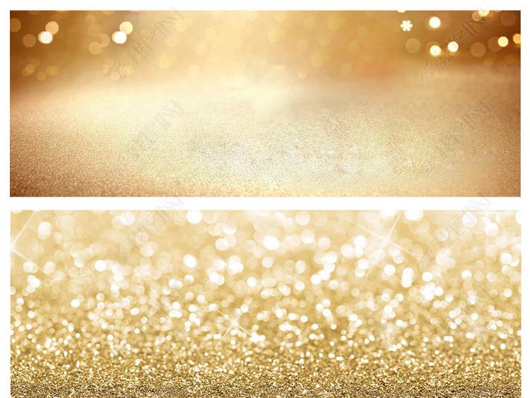 黄金金色底纹金属质感金粉光斑纸张背景