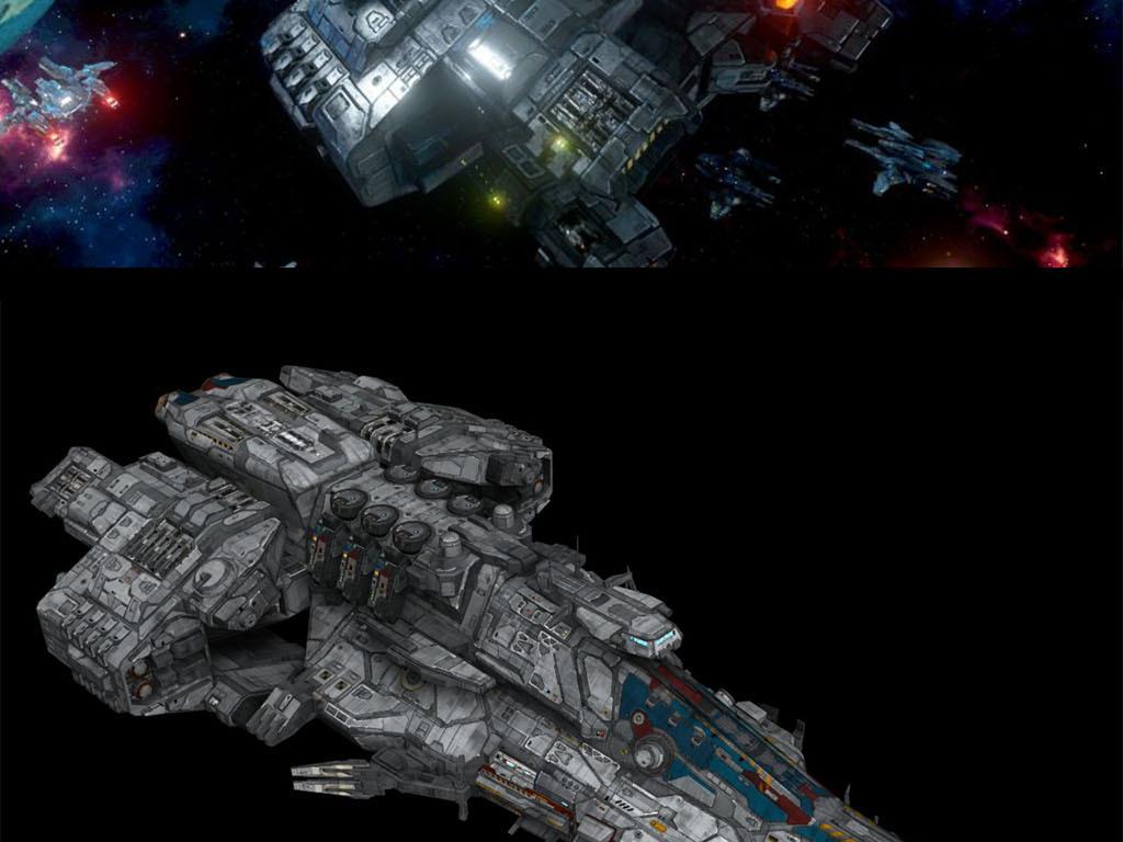 宇宙战舰科幻战舰太空战舰