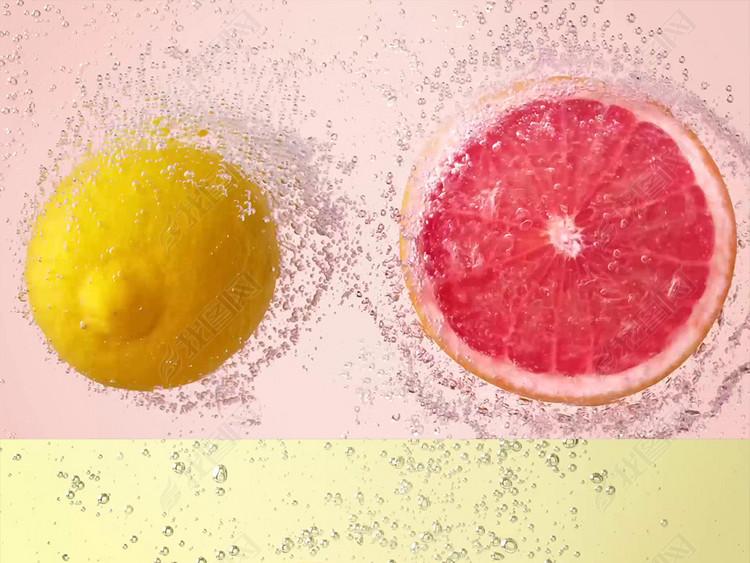 唯美柠檬特效视频