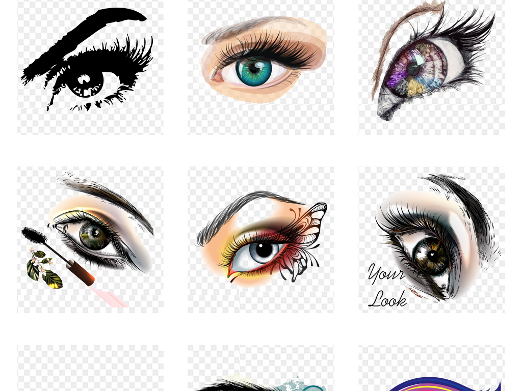 眼球的设计与联想 4例