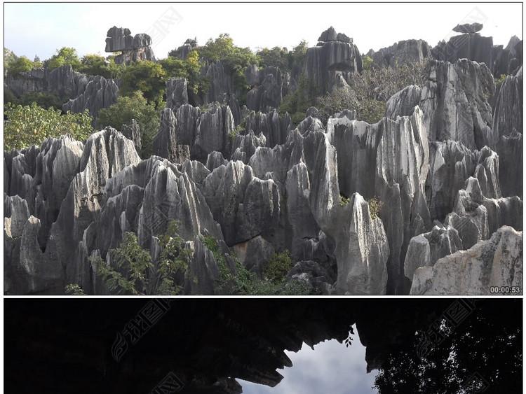 石林风景区云南昆明世界自然遗产国家地质