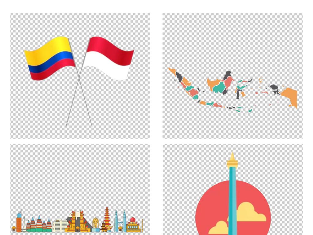 【印度尼西亚国旗】宝宝认识国旗_太平洋亲子网... _太平洋亲子网