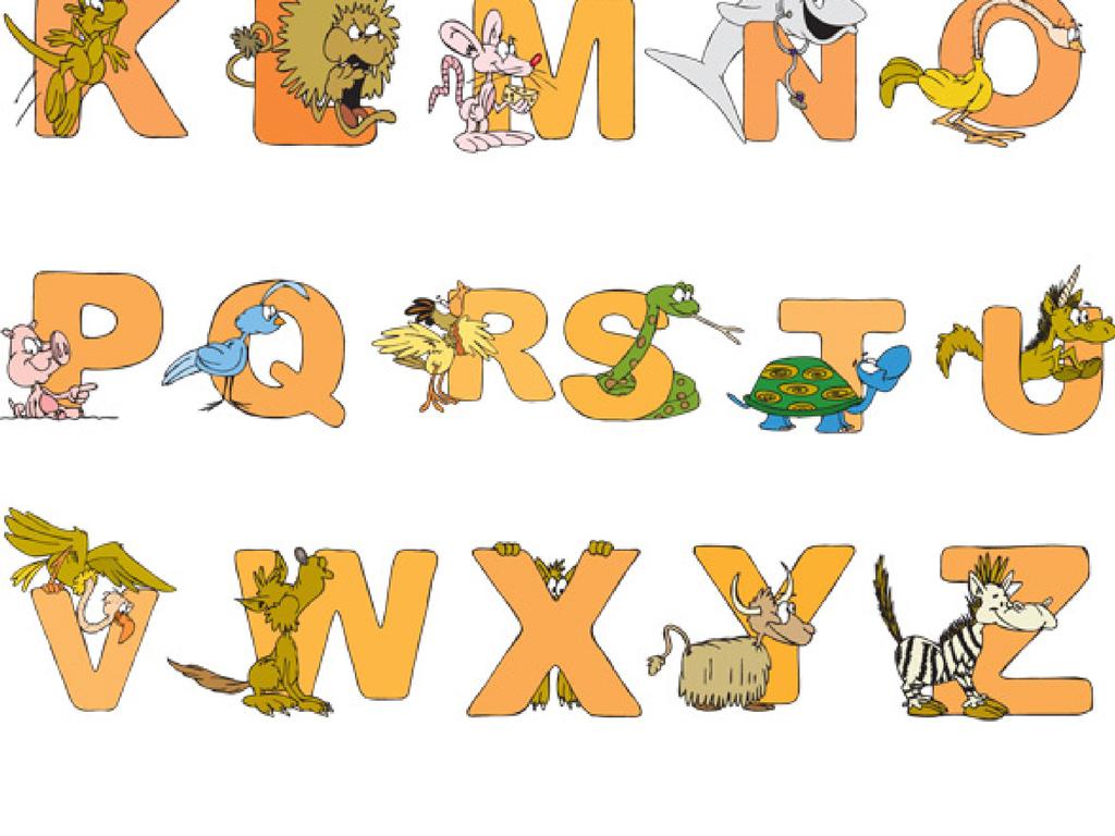 艺术字 艺术字设计 英文艺术字设计 > 儿童英文识字卡片动物英语儿童