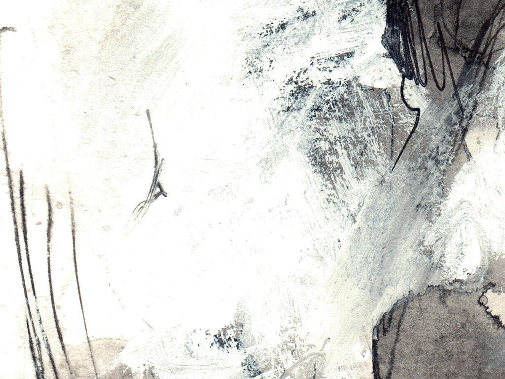 手绘水墨骏马装饰画钢笔细描