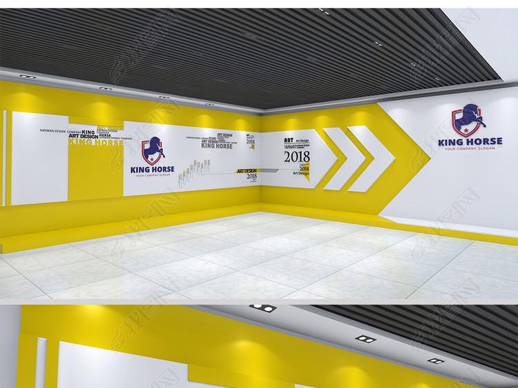 企业展厅文化墙宣传墙公司形象墙