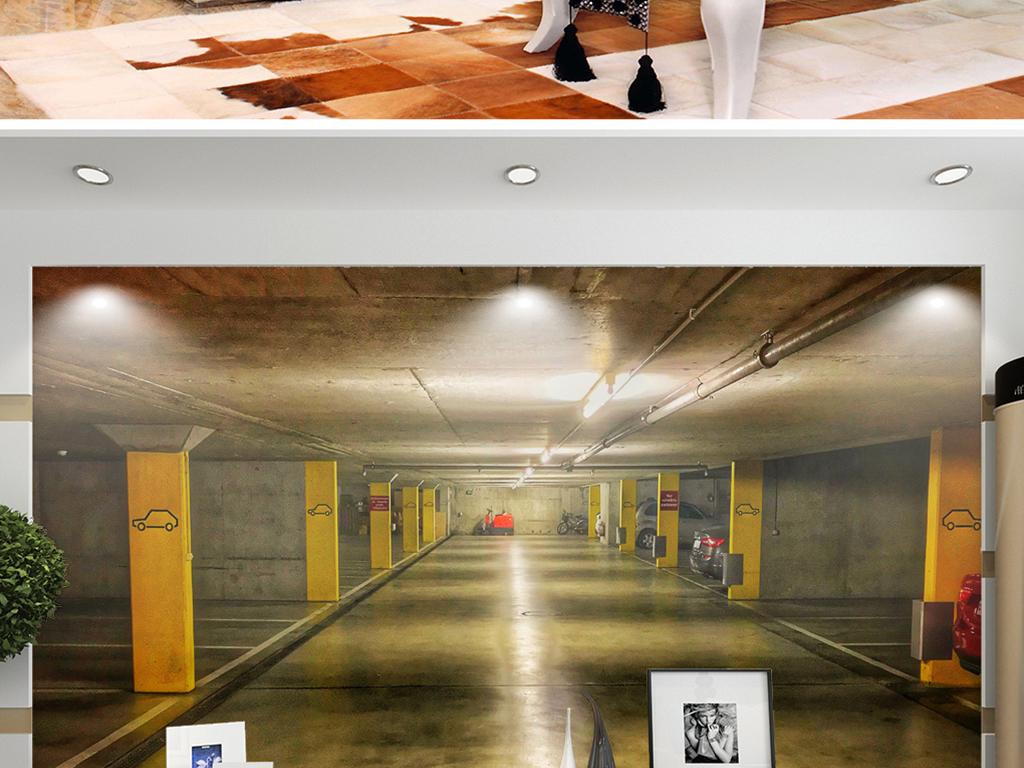 背景墙 电视背景墙 电视背景墙 > 3d停车场空间  素材图片参数: 编号