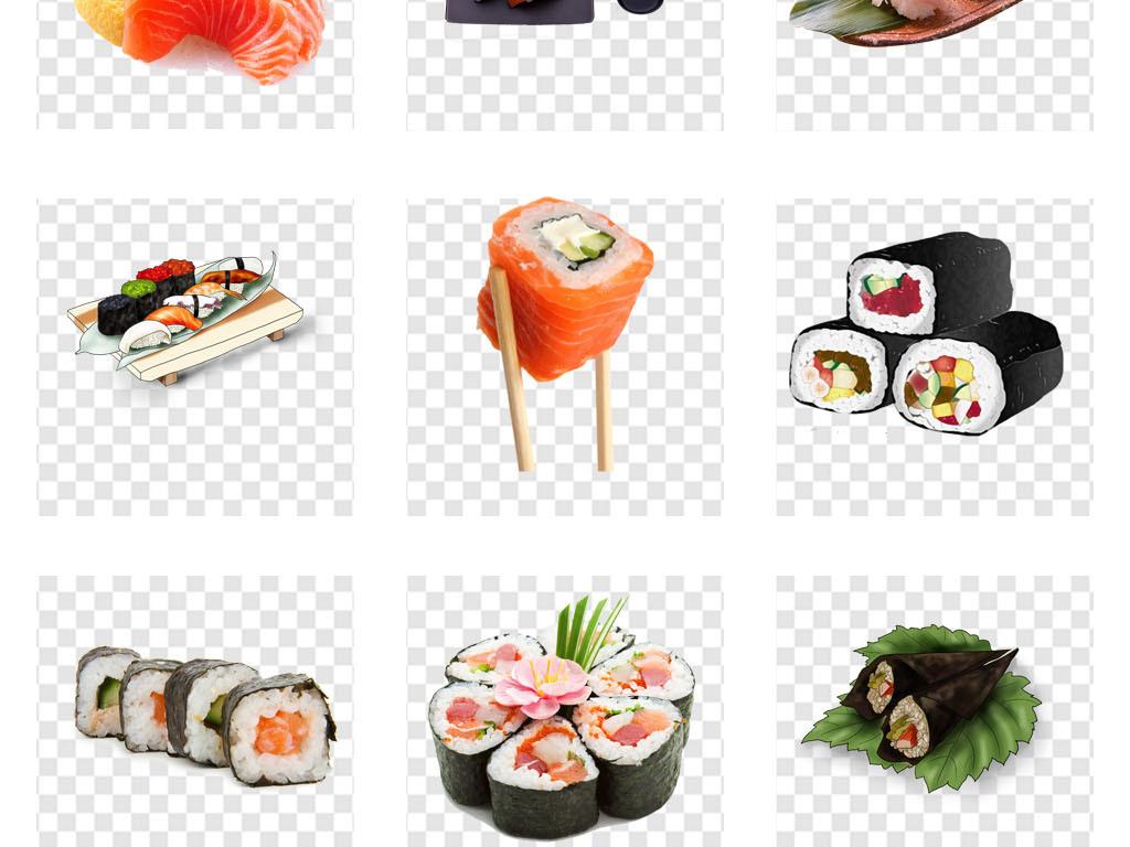免抠元素 生活工作 食物饮品  > 日本寿司卡通日式料理料理海报png