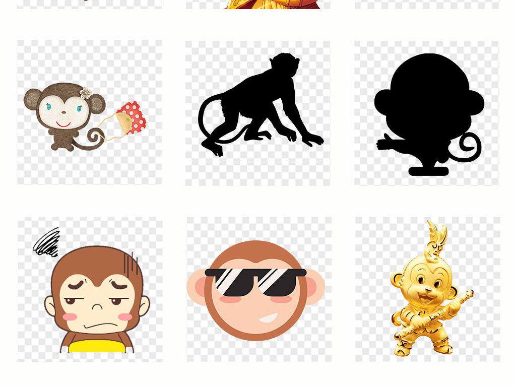 卡通人物小猴子                                          十二生肖