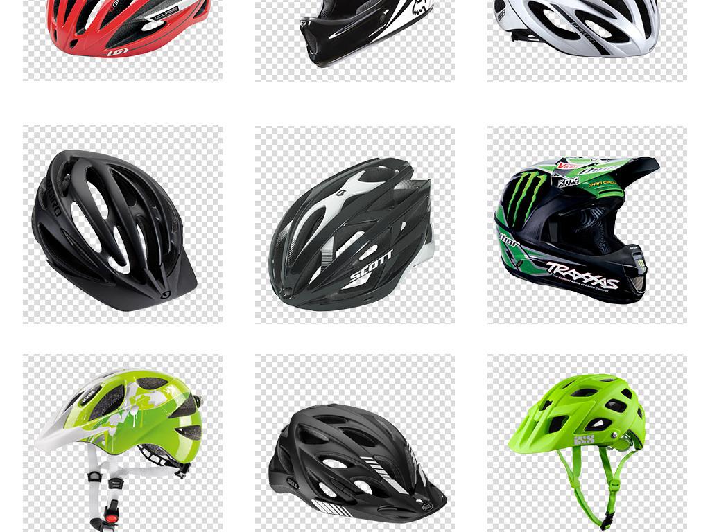 自行车头盔摩托车头盔设计png免扣素材
